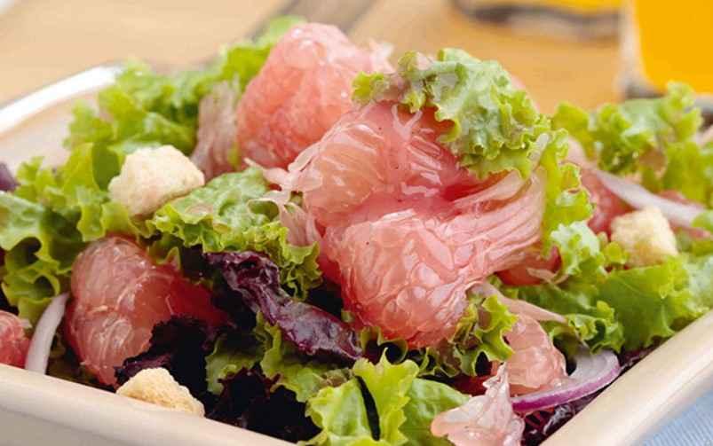 Pomelo Salad-chicken salad-chiken salad recipe-salad dressing recipe www.eatopic.com