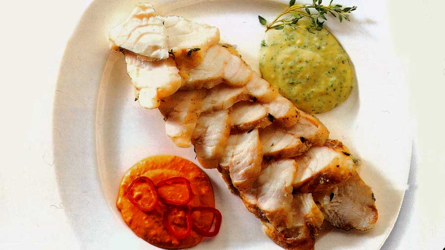 Monkfish recipes-baked monkfish recipe-fish sauce recipe-calories-nutrition www.eatopic.com