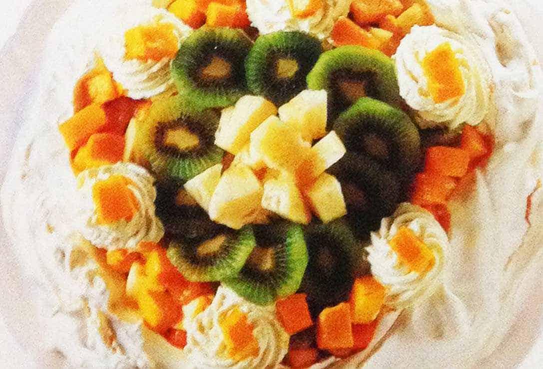 Pavlova With Tropical Fruit Recipe