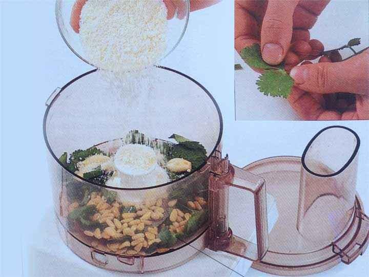 Make the Fresh Coriander Pesto