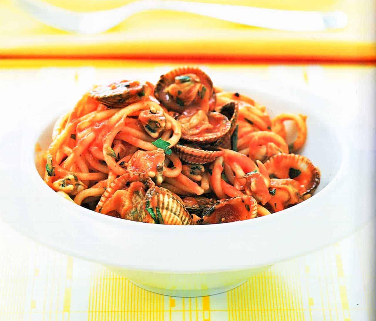 pasta spaghetti vongole-Pasta Vongole Spaghetti Recipe
