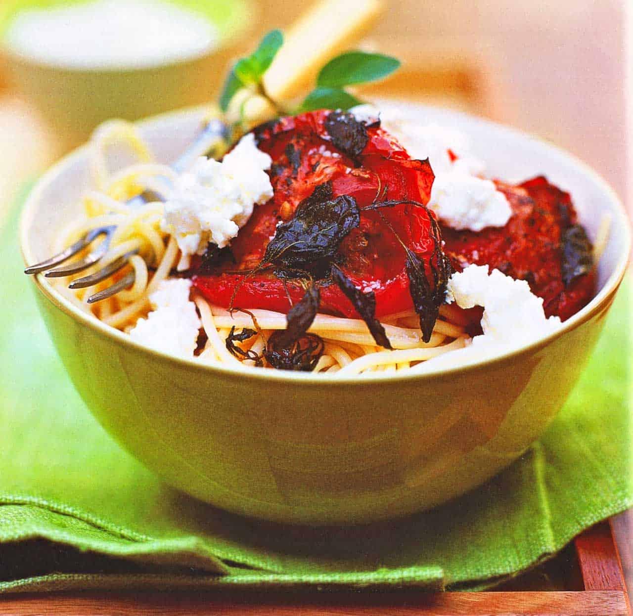 tomato pasta recipe-Spaghetti recipes www.eatopic.com