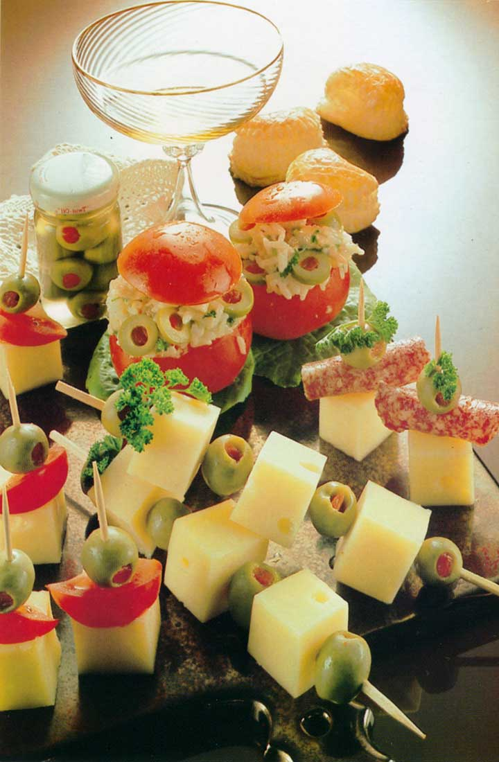 Recipes for Parties-Cheese Sticks-homemade canapes www.eatopic.com