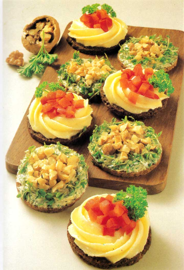 Recipes for Parties-Party Nests-calories-easy-www.eatopic.com