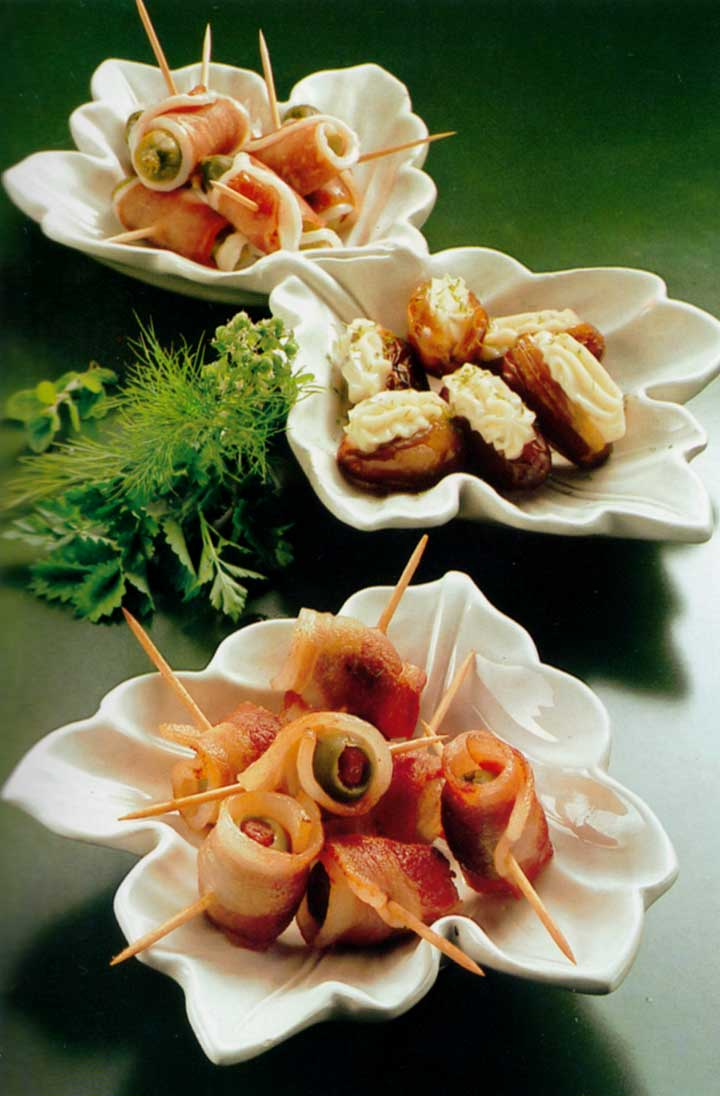 Recipes for Parties-Savoury Titbits-calories-easy best party canapes-www.eatopic.com