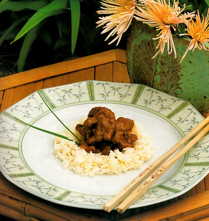 Beef with Onions Recipe-Chinese Cuisine-calories-Homemade-protein-carbs-meat recipe