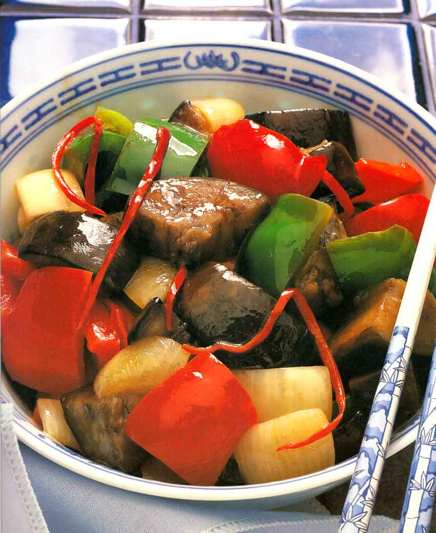 Eggplant-and-Peppers-Szechuan-Style-chinese-style-calories-nutrition