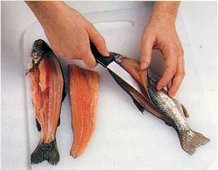 Fish-How to clean, how to choose, how to store and more-Filleting