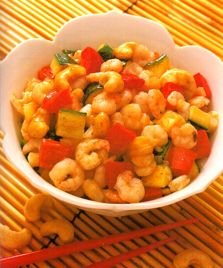 Kung Pao Shrimp with Cashew Nuts Recipe-calories-nutrition-high protein-low carbs