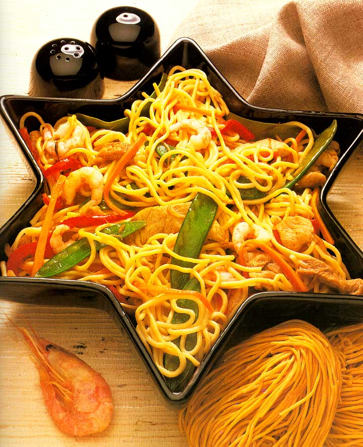 Pork and Shrimp Chow Mein Recipe-calories-Homemade-protein-carbs-meat recipe-nutrition