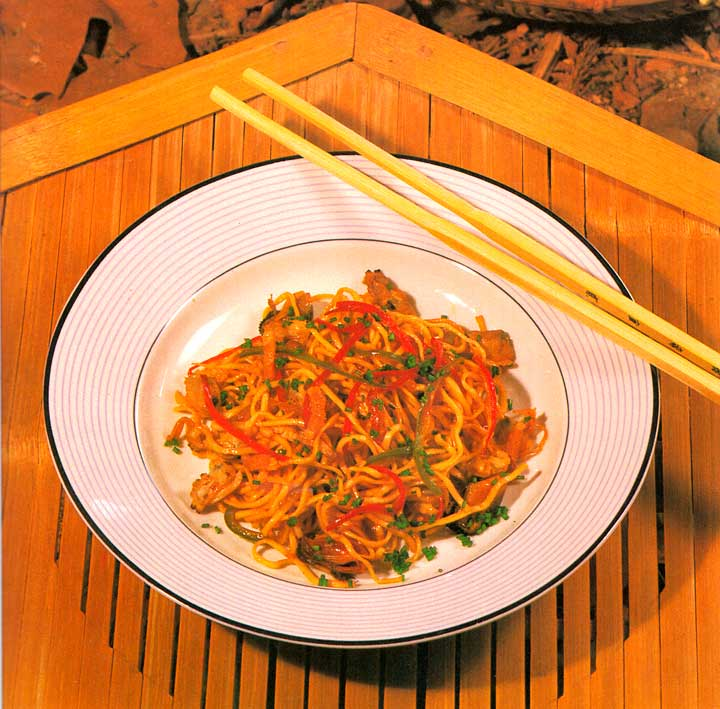 Seafood Chow Mein Recipe-Chinese Noodles-calories-Homemade-protein-carbs-nutrition