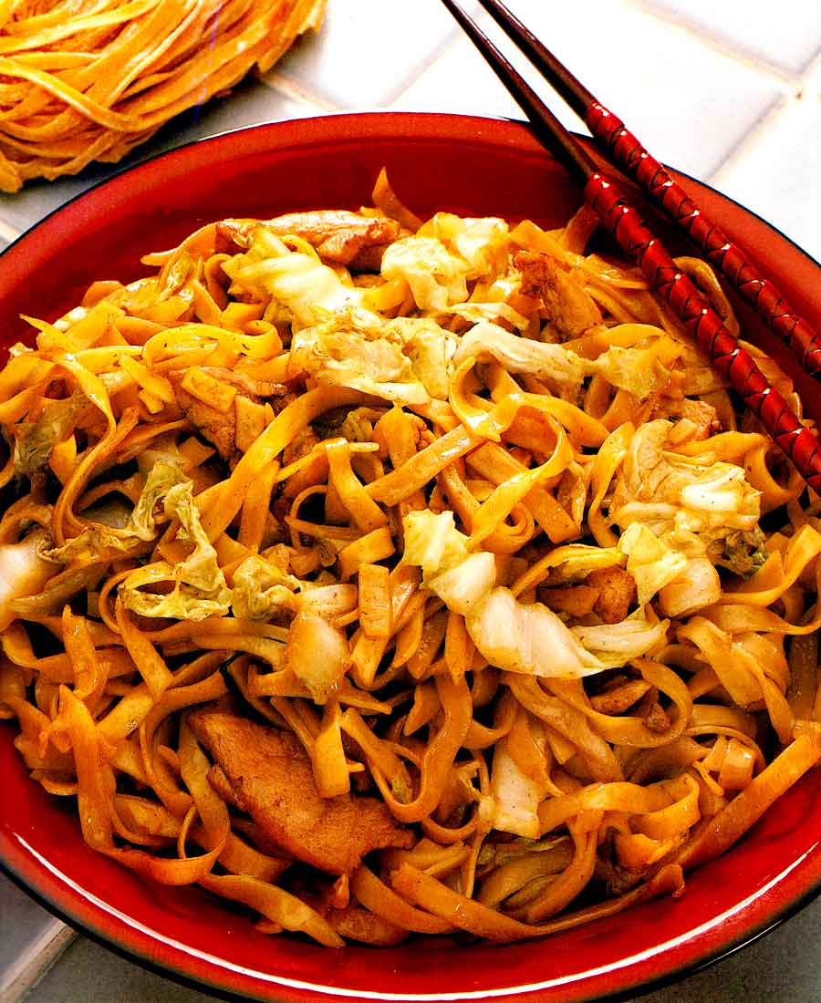 Shanghai Noodles-easy Chinese Cuisine Recipes-calories-Homemade