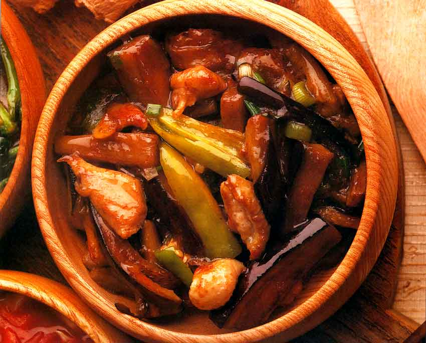 Szechuan Eggplant Recipe-Chinese Cuisine-calories-Homemade-high protein-low carbs-easy