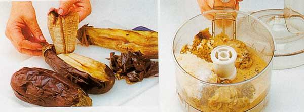 Baba Ganoush and Lebanese Flatbread Recipe-steps