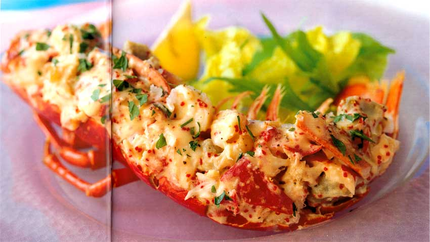 Easy Fish Recipes-Lobster with Artichoke Hearts-calories-nutrition facts-eatopic