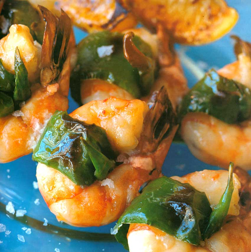 Fish Recipes-Smoky Chillied Prawns-eatopic