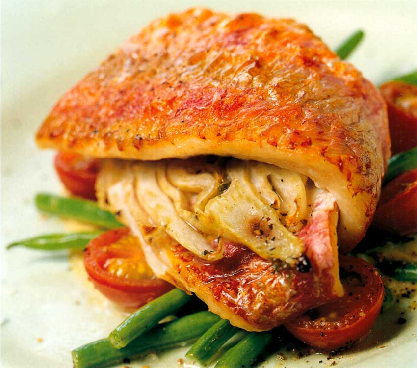 Red Mullet and Fennel with Rouille Recipe-calories-nutrition-high protein