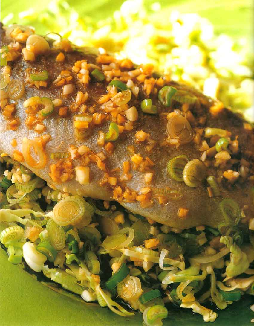 Special Fish Recipes-Chinese Steamed Trout-nutrition facts-calories-high protein