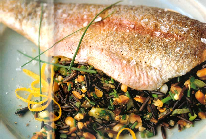 Whole-Rainbow-Trout-with-Lemon-and-Ginger-Stuffing-calories-nutrition-facts-high protein
