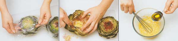ARTICHOKES-WITH-VINAIGRETTE-Artichauts-Vinaigrette-calories-nutrition-french