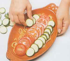 Courgette-and-tomato-bake-Tian-ProvenCal-french-cuisine-recipes-steps