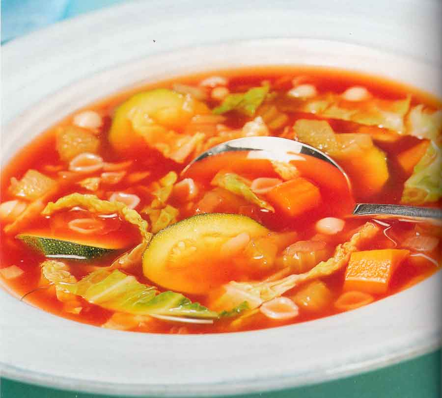 Diet-Recipe-Vegetable-and-Pasta-Soup-Low-Fat