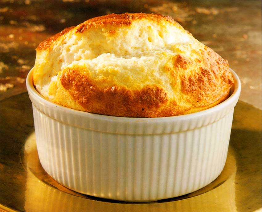 Goat-s Cheese Souffle-Fromage-de-Chevre-vegetarian-recipes-diet-food-french-cooking