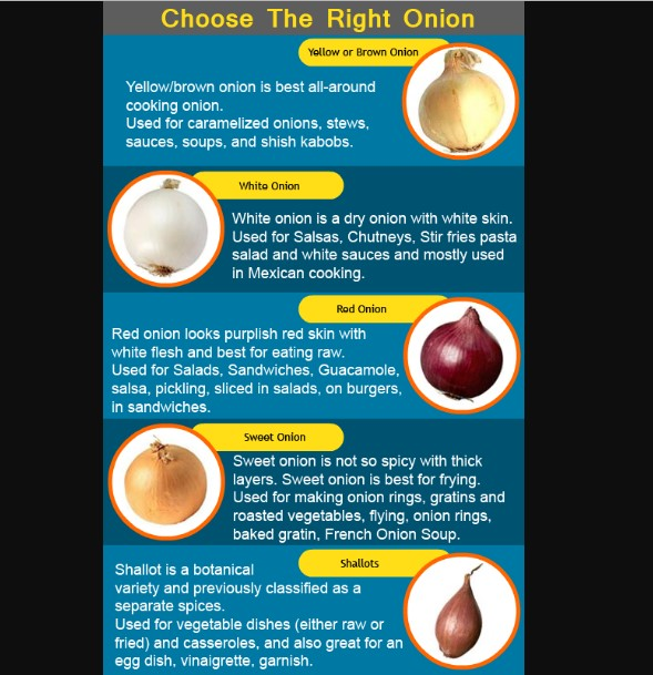 How-to-Choose-How-to-Store-How-to-Use-Onions-food-tips-practicle-steps by step