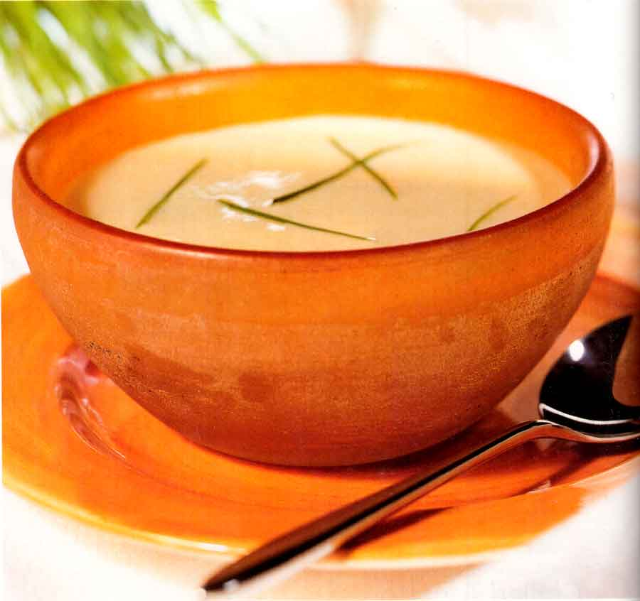 Low-fat Vichyssoise Recipe-calories-diet food-soup recipes-nutrition facts