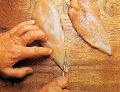 Trimming the Breast-tips-step-by-step-with-photo-chicken and poultry