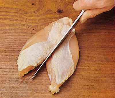 how-to-make-Halving the breast-tips-chicken-and-poultry