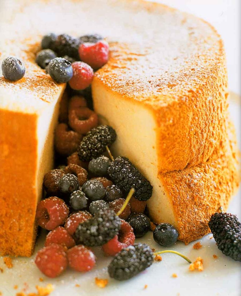 Angel Food Cake Recipe-calories-nutrition facts-step by step photo