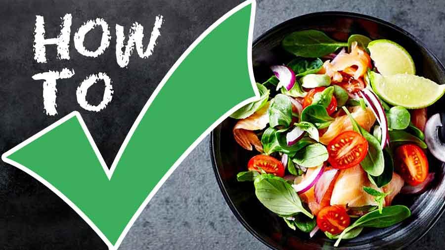 Basics of Salads-How to store salads-How to Prepare Salads-Varieties of Salads