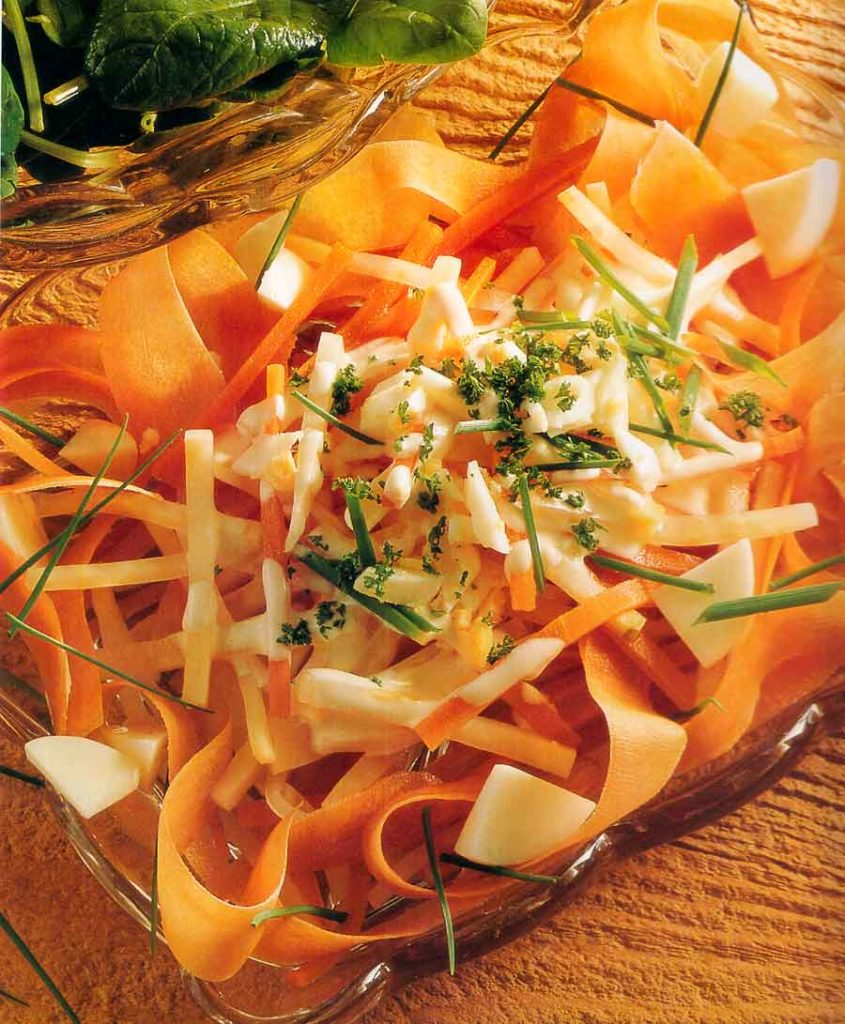 Celeriac and Carrot Remoulade Recipe-Low Fat-calories-nutrition facts