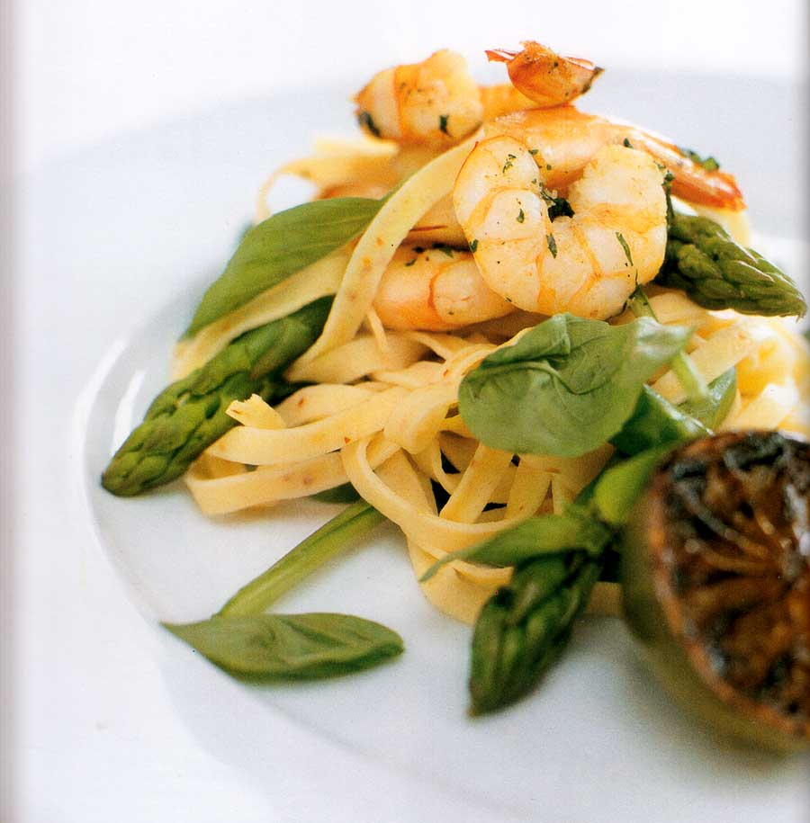Chilli Pasta with Prawns and Lime Recipe-calories-nutrition facts