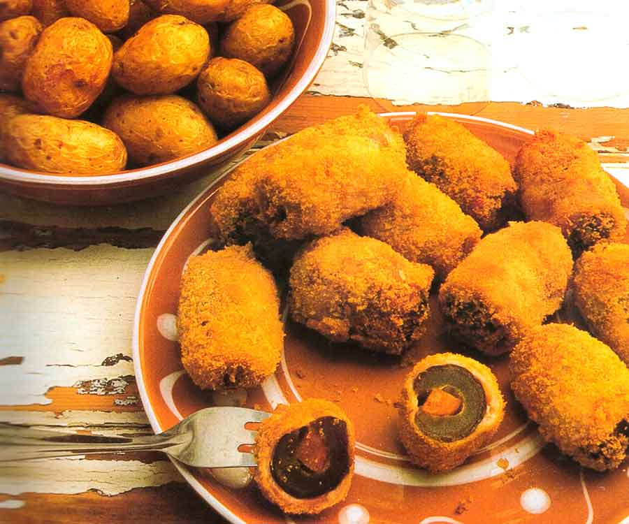 Dates Stuffed with Chorizo Recipe-Mediterranean Appetizers-Calories-nutrition facts