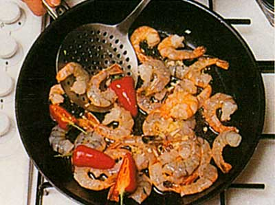 Garlic-Prawns-Spanish-Cuisine-calories-step-by-step-with-photo-3
