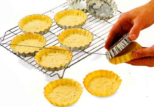Handle tartlet shells with care so you do not damage them