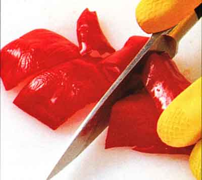 How to Core-Deseed-and Chop hot Chillies-STEP by step with photo