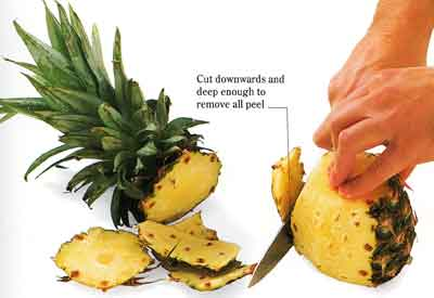 How-to-Peel-Pineapple-and-Cut-it-Into-Rings