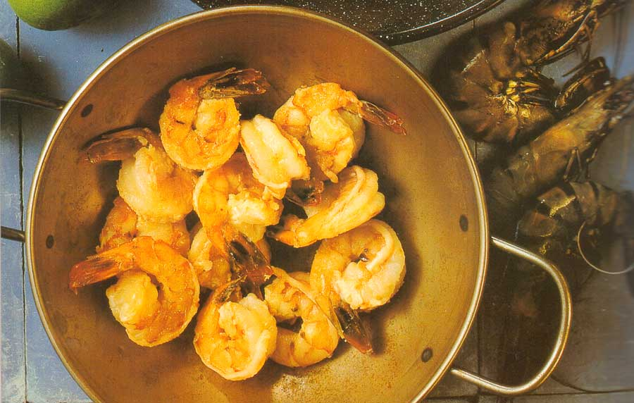 King Prawns in Sherry-calories-nutrition facts-mediterranean appetizers