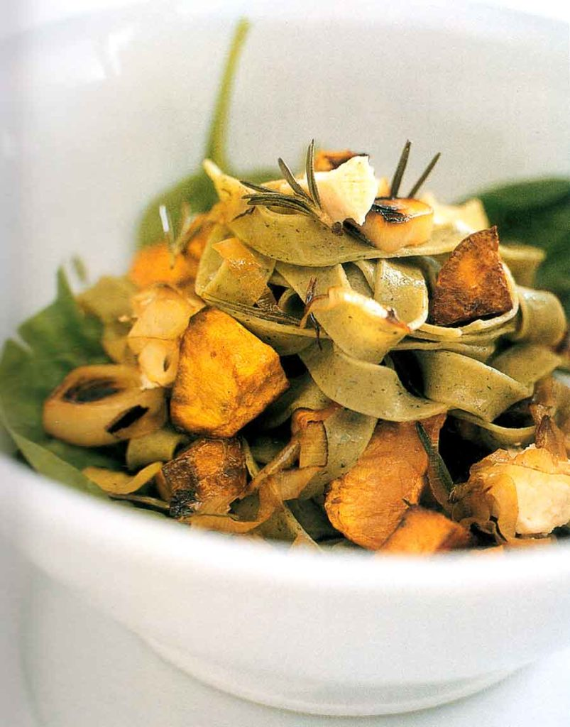 Pasta with Roast Sweet Potato and Feta Recipe-calories-nutrition facts