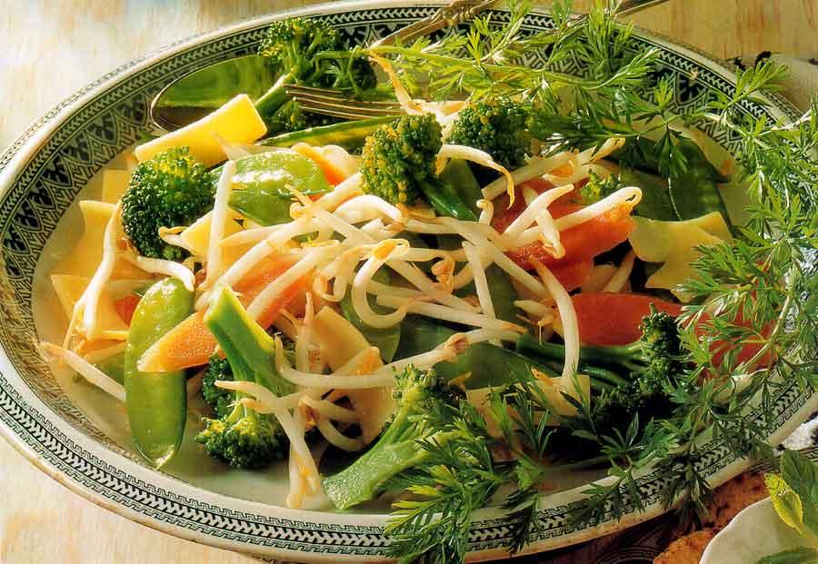 Stir-fried Vegetables Recipe-Low Fat-calories-nutrition facts