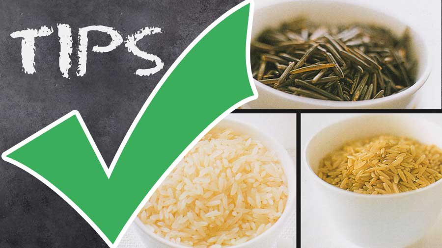 how to make-Rice-Varieties or Types of Rice-nutrition facts-tips