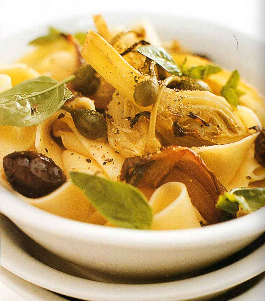 Pappardelle-with-Fennel-and-Olives-Recipe-calories-nutrition-facts-easy pasta recipes