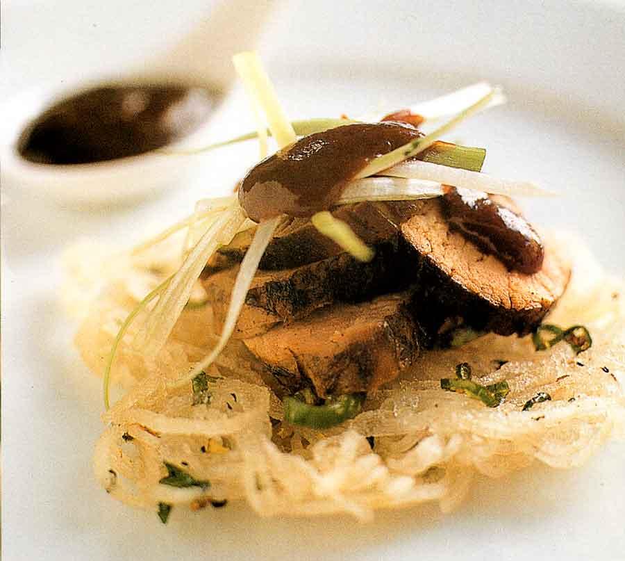 Rice Noodle Pancakes Recipe-calories-Asian Cuisine-nutrition facts-recipematic