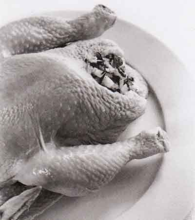 Roast Chicken Recipe-step by step-with photo