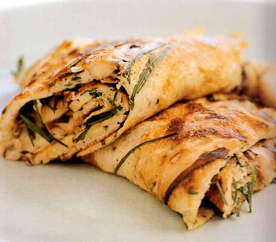 Shiitake Mushroom Omelette-calories-breakfast-nutrition facts-easy-vegetable
