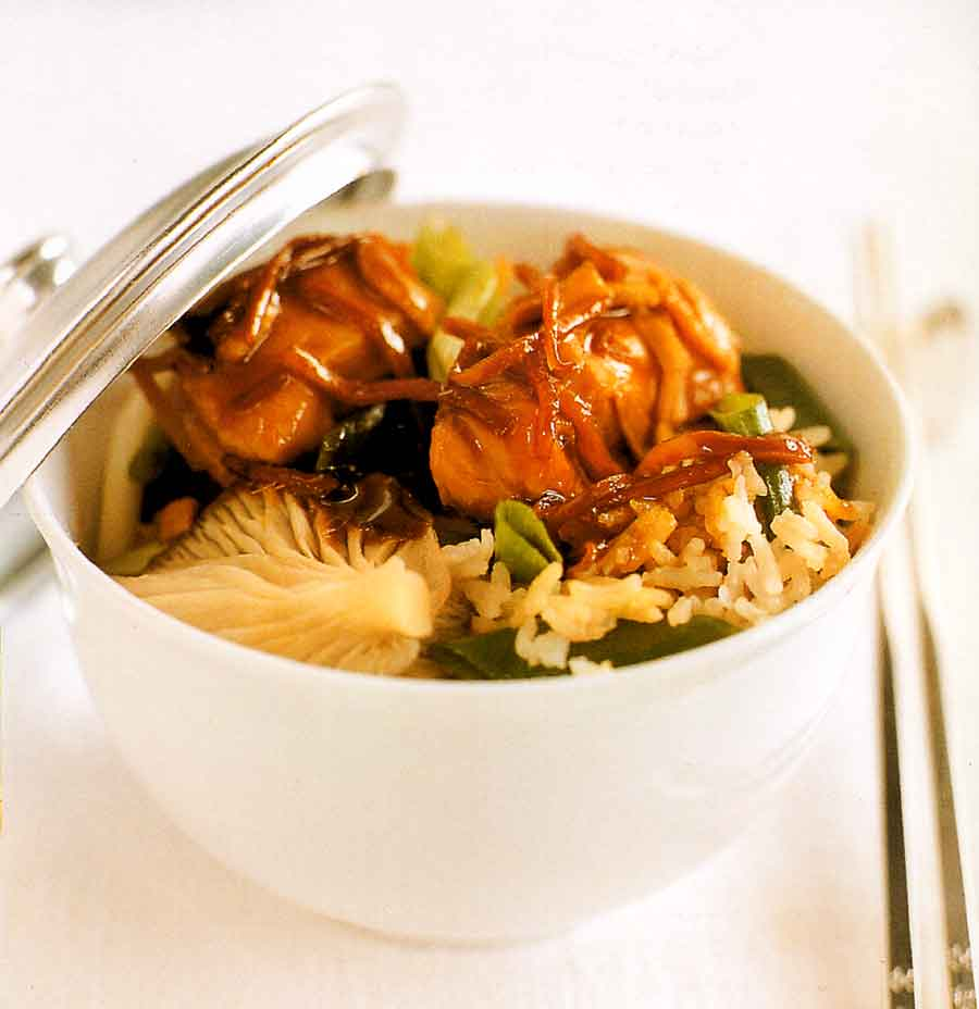 Soy Rice and Chicken Recipe-calories-nutrition facts-chinese cuisine