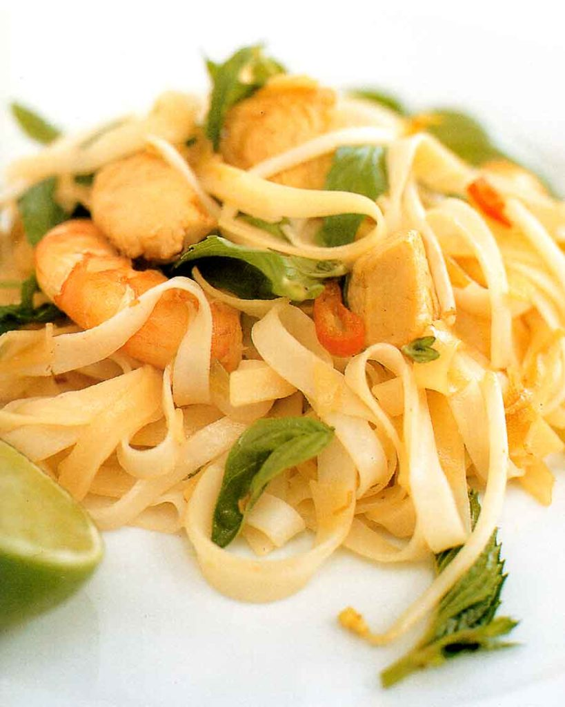 Thai-Rice-Noodles-Recipe-calories-nutrition-facts-rice-asian-cuisine